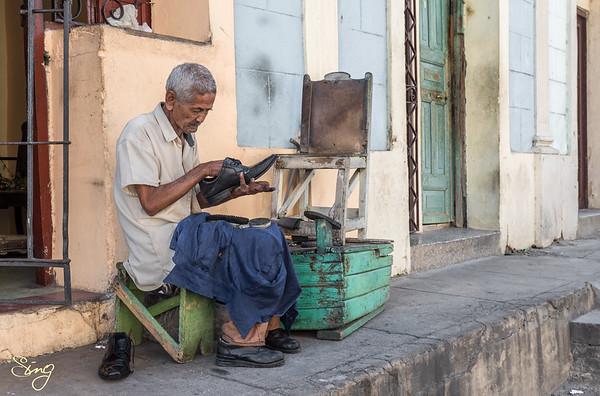 The Cobbler. Santiago, Cuba