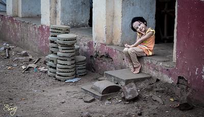 Strike A Pose. Bagan, Myanmar (Birma)