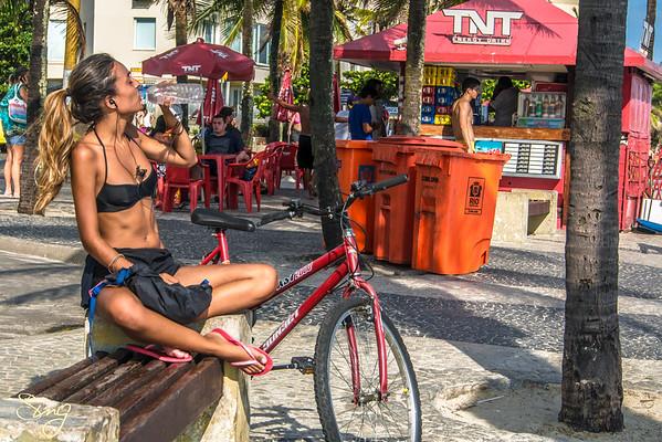 Thirst-Quenching. Rio de Janeiro, Brazil