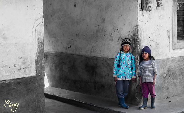 Colourful Children. Silvia, Colombia