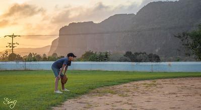 Baseball With A Stunning View. Viñales, Cuba