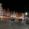 Pubs at night - Bruges, Belgium
