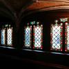 Basilica of the Holy Blood windows - Bruges, Belgium