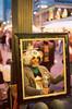 Living art, at the Pike Place Market, Seattle, Washington.
