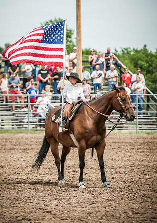 4JUL14 Choteau American Legion Rodeo