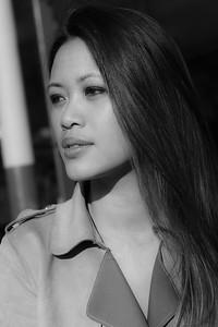 Linh, Un Jour d' Avril 2019 à Montmartre