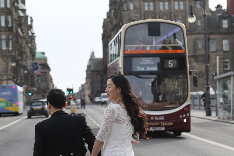 Morningside sounds nice.  Shall we go there for the reception with Lothian Buses?