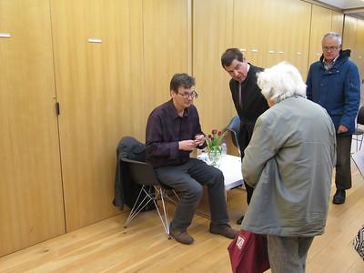 Ian Rankin and a fan...