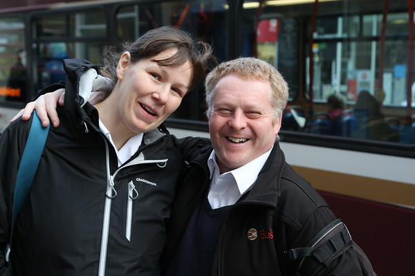 Roy and his good lady who he failed to introduce.  Gentleman to the last - unless it's his round.