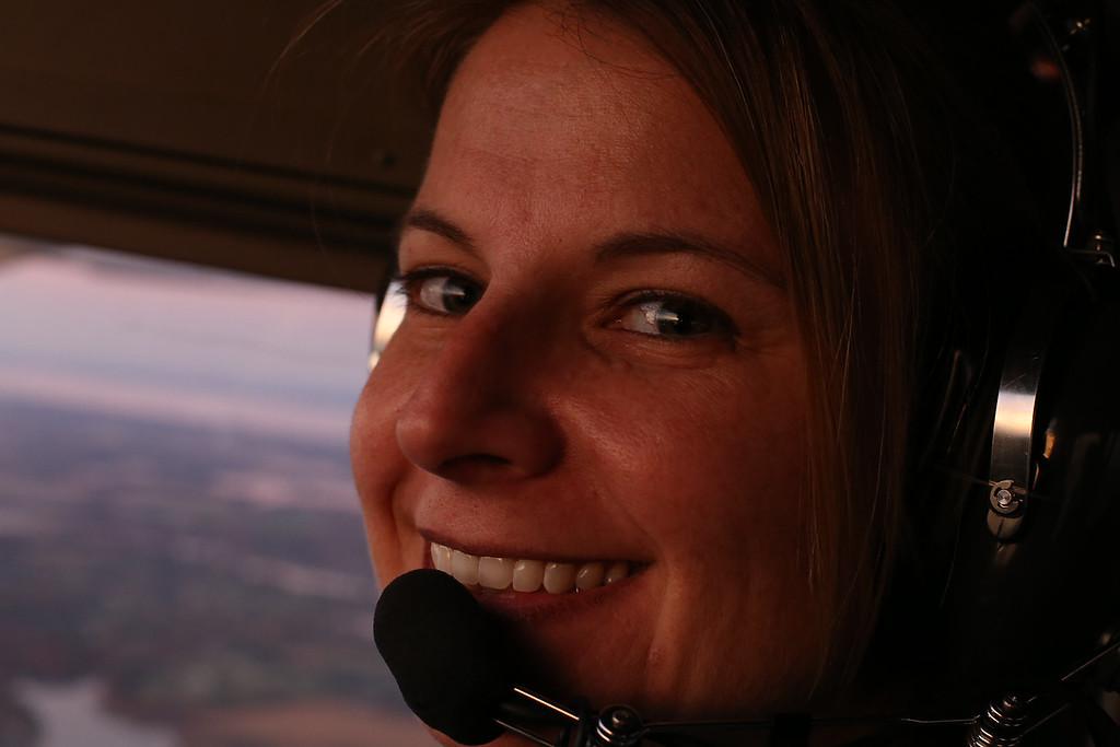 Flight attendant AND co-pilot.