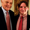 Senator Glenn and POGO's intern through the Washington Academic Internship Program, Jeremiah Lindsey.
