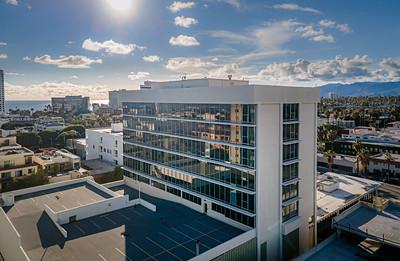 SGI Plaza looking West