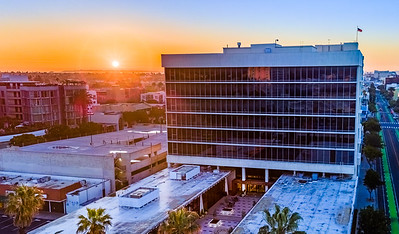 March Sunrise at the SGI Plaza