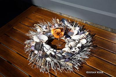 Wine & shells