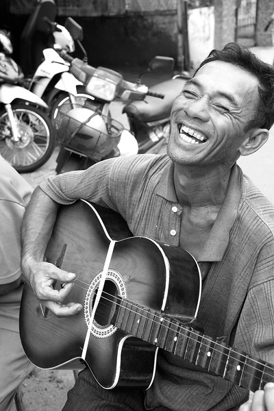 Guitar Player, Vietnam, 2014