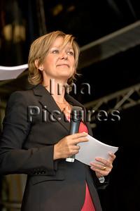 Indra de Winne presenter,presentatrice,présentatrice