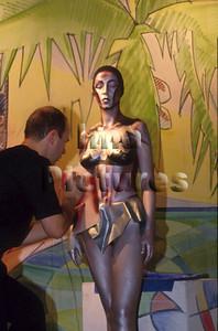 bodypainter peintre corporelle