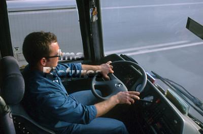 1-40-10-0932 Bus driver,buschauffeur,Chauffeur de bus