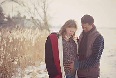 Babybump photoshoot Brandenburg