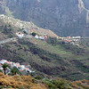 """The road down to the """"pirate village"""" of Masca. Until recent years it was inaccessible by road."""
