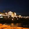 Christmas lights at Puerto de la Cruz.