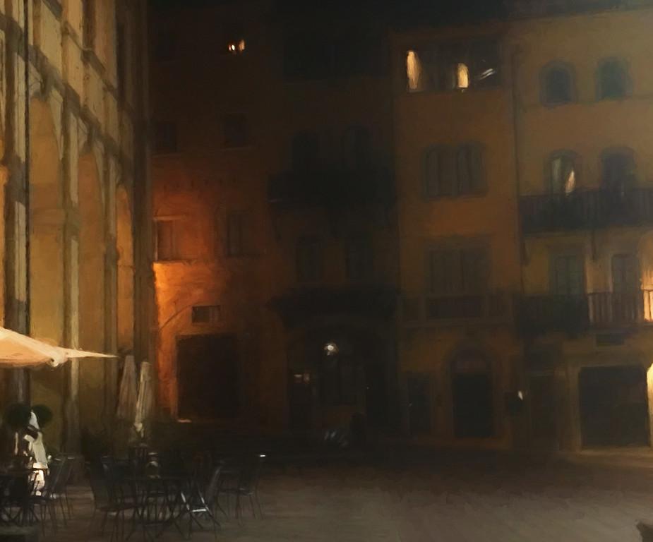 Midnight Street Scene