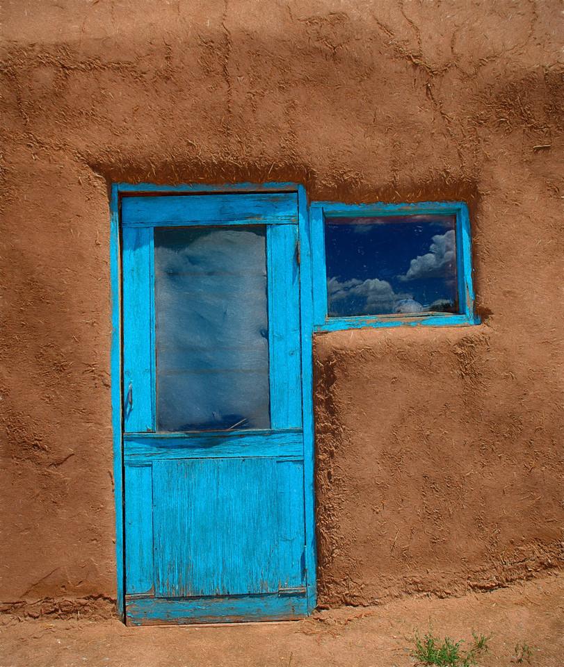 Blue Adobe