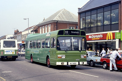 Provincial 63 Fareham Bus Station May 87