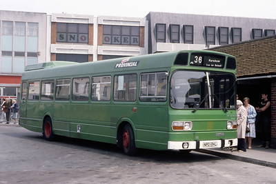 Provincial 85 Fareham Bus Station May 87