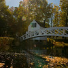 Monet Bridge in Autumn<br /> Somesville, Maine (Mt. Desert Island)