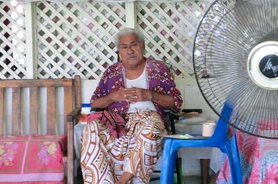 Leaoaniu Patolo of Toamua Village, Samoa