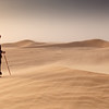 Kuwait - Sand Storm at Kuwait Desert