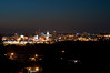 Peoria, IL Skyline at Night #DSC_0001