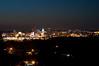 Peoria, IL Skyline at Night #DSC_0001