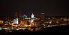 Peoria, IL Skyline at Night #DSC_0011