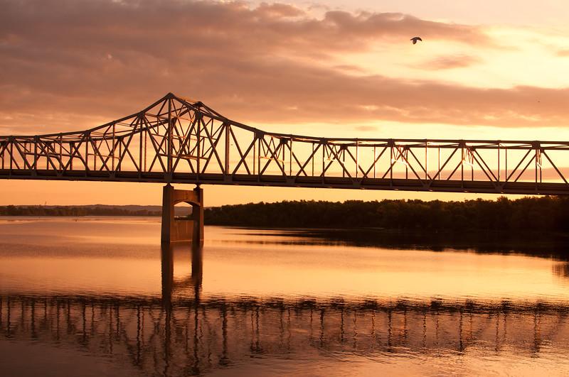 Peoria, IL Bridge #DSC_0023