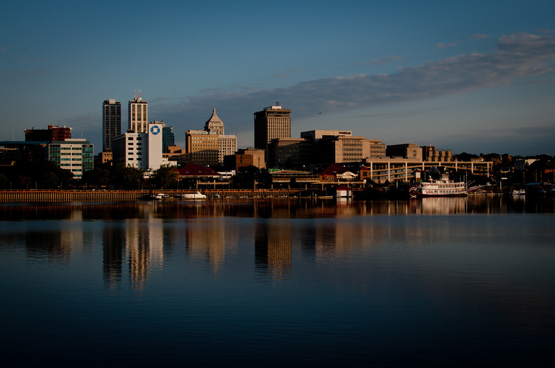Peoria, IL Skyline at daytime #DSC_0085