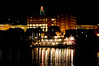 Spirit of Peoria at night