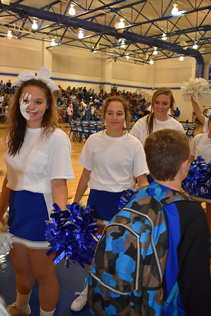 Pep Rally: Blue Devils vs. Blue Ridge