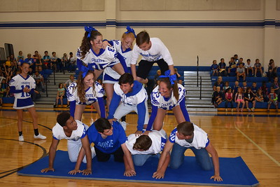 Pep Rally: Blue Devils vs. Leonard