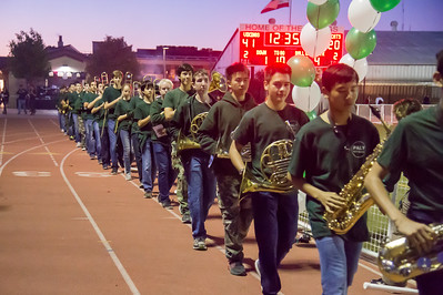 102116 Pep Band Homecoming-Seniors