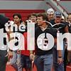 The Eagles celebrate their upcoming football game with the Eagles vs. La Vega Pep Rally at Argyle High School in Argyle, Texas, on September, 7, 2018. (Georgia Penn / The Talon News)