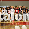 Students participate in the Black out Pep Rally at Argyle High School in Argyle, TX. (Hannah Wood / )
