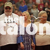Senior's celebrate with their parents for the final pep rally of the fall semester<br /> Friday, Nov. 4 at Argyle High School inArgyle , TX. (GiGi Robertson / )