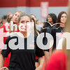 The Eagles Volleyball team competes against McKinney at the  Argyle High School Gym in Argyle, Texas, on August 29, 2018. (Andrew Fritz / The Talon News)