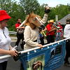 Group marching in Pepperell 4th July Parade are the Pepperell Horse Owners Assoc.,. Nashoba Valley Voice Photo by David H. Brow