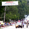 Start of the 4th of July Parade in Pepperell heading down Main Street. Nashoba Valley Voice Photo by David H. Brow