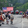 Pepperell 4th of July Parade heading down Main Street.Nashoba Valley Voice Photo by David H. Brow