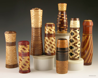 Assorted Peppermills