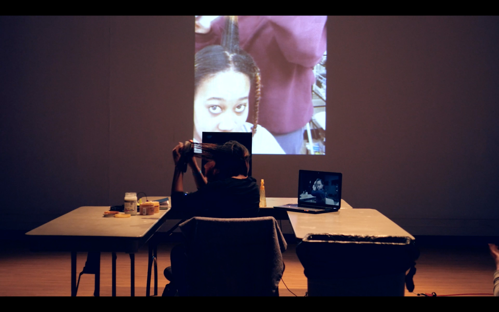 Kris Lee, Intro to Performance F15, w_MMB, video still by Ji Yang2